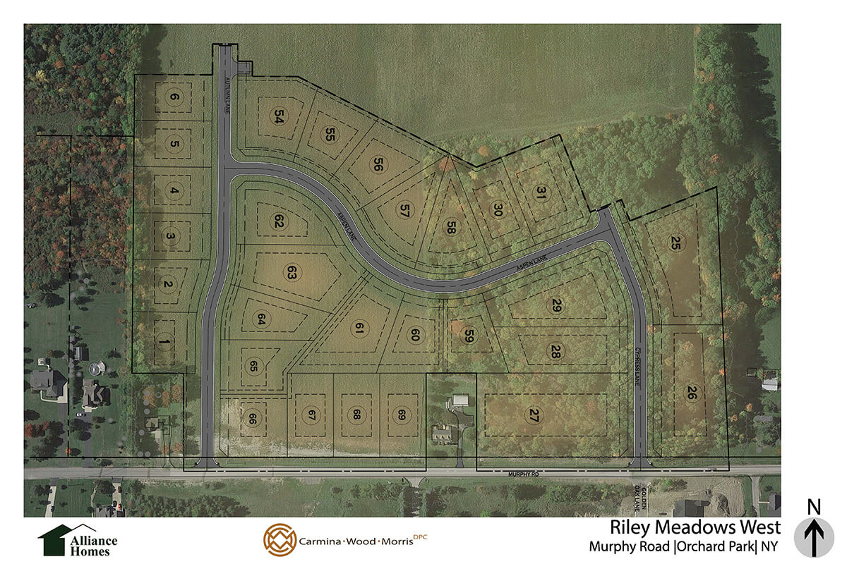Riley Meadows West Map