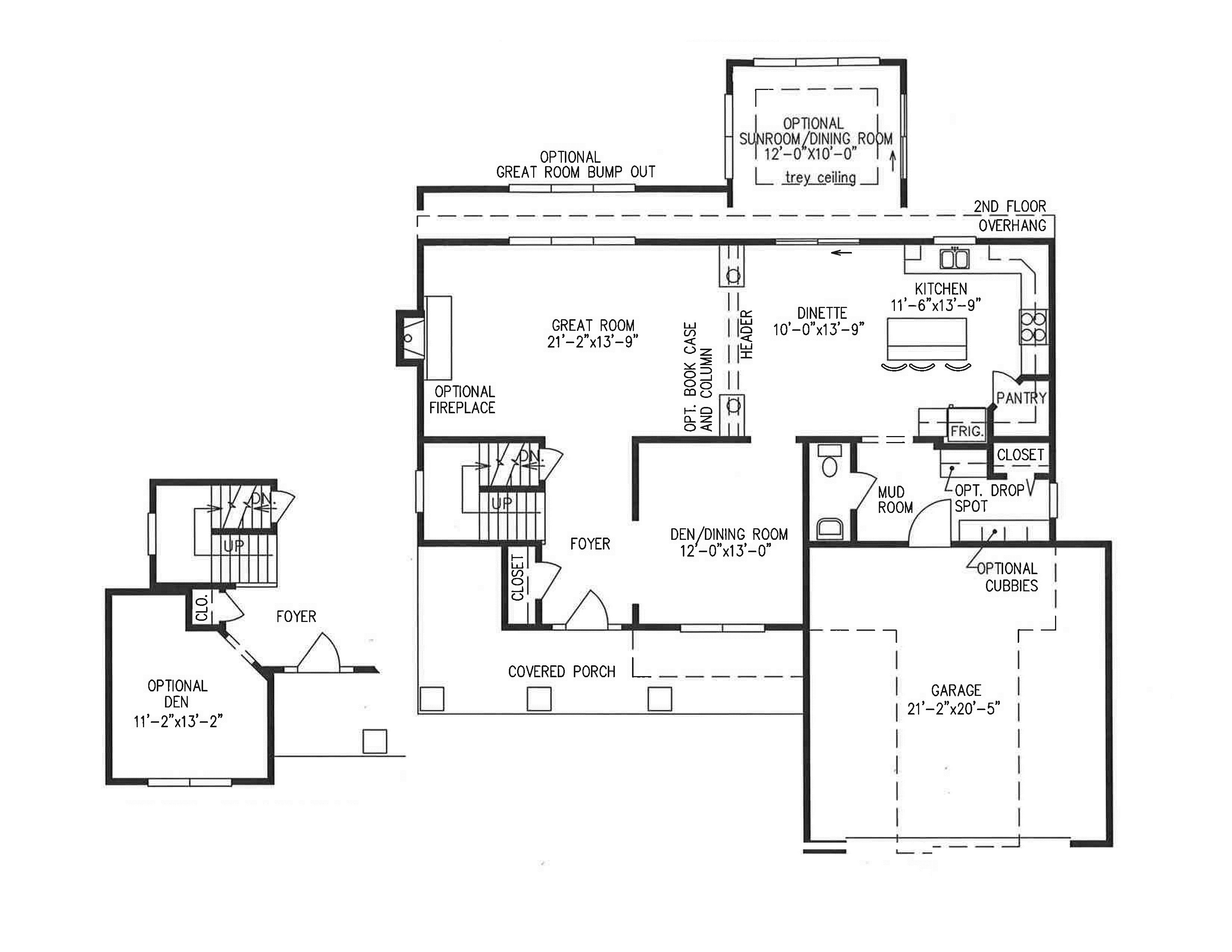 Ruskin 1st Floor Plan Without Dimensions